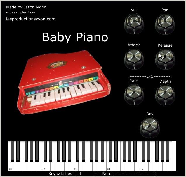 Zvon Baby Piano VSTi