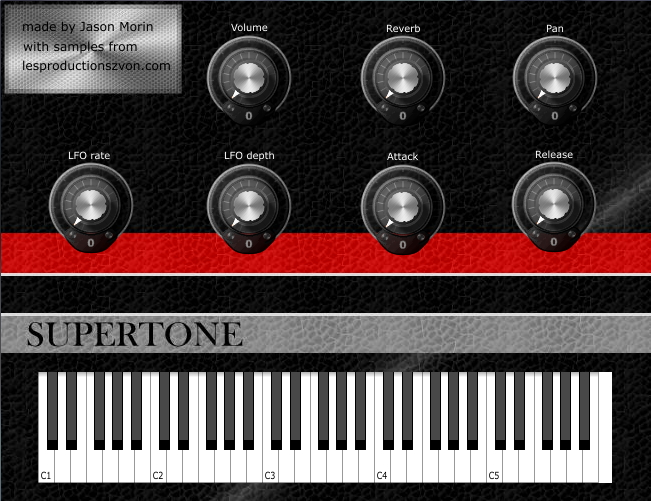 Supertone screenshot